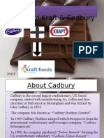 Merger of kraft & Cadbury