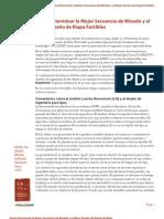 Cómo Determinar la Mejor Secuencia de Minado y el Mejor Diseño de Etapa Factibles