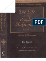 The Life History of Prophet Muhammad PBUH by Ibn Kathir Volume 2