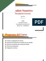 Analisis Numerico Universidad de Venezuela - Kay Tucci