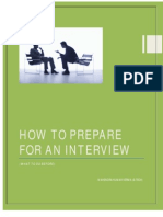 HOW SHOULD A FRESHER PREPARE FOR JOB INTERVIEW