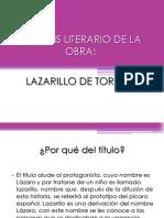Analisis de Lazarito