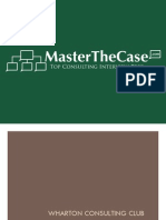 Wharton Casebook 2010 for Case Interview Practice | MasterTheCase