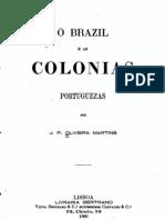 O Brasil e as colónias portuguesas, por Oliveira Martins