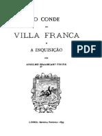 O conde de Villa Franca e a Inquisição, por Braamcamp Freire