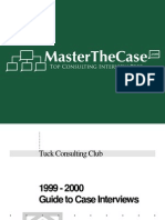 Tuck Casebook 2000 for Case Interview Practice | MasterTheCase