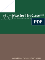 Wharton Casebook 2008 for Case Interview Practice | MasterTheCase
