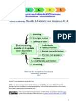 Moodle 2.3 handleiding voor docenten