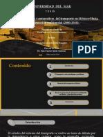 Situación problemas y perspectivas  del transporte en México Hacia una integración multimodal 2000-2010