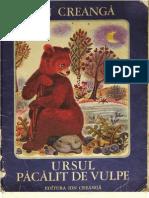 Ion Creanga - Ursul Pacalit de Vulpe (Ilustratii de Ileana Ceausu-Pandele)