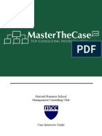 Harvard Casebook 2004 for Case Interview Practice | MasterTheCase