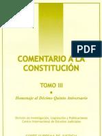 Comentarios a La Constitucion