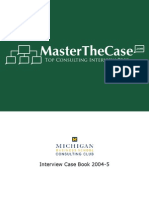 Ross Casebook 2005 for Case Interview Practice | MasterTheCase