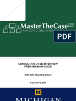Ross Casebook 2007 for Case Interview Practice | MasterTheCase