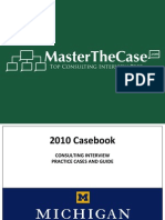 Ross Casebook 2010 for Case Interview Practice | MasterTheCase