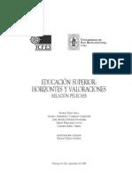 Bibliog EstudiosApoyadosXICFES Libro PEI-ECAES