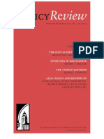 Policy Review - February & March 2013, No. 177