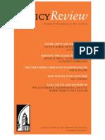 Policy Review - October & November 2012, No. 175