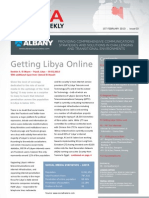 Libya Business Weekly - Issue 3 - 01.02.2013