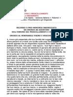 Sant'Agostino - Contro i Priscillianisti e gli Origenisti (ITA)