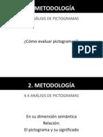 EJERCICIO PICTOGRAMAS