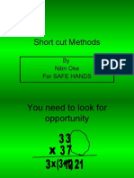 Short Cut Methods of Numerical Calculations