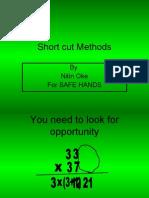 Short Cut Methods of Numerical Calculations