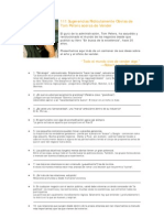 111 Sugerencias Ridículamente Obvias de Tom Peters acerca de Vender