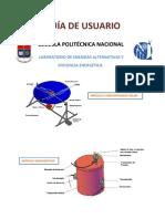 MÓDULO DE CONTROL CONCENTRADOR PARABÓLICO SOLAR