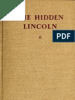 The Hidden Lincoln