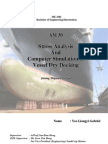 Stress Analysis and Computer Simulation of Vessel Dry Docking