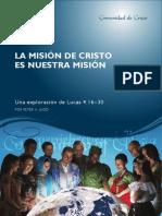 La Mision de Cristo