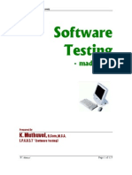 Software Testing Made Easy