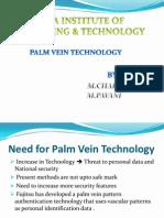 Palm vain technology