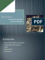 Informacion del Material Germanio