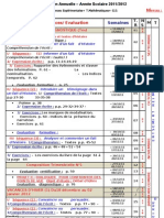 Répartition Annuelle 3ème As 2011-2012