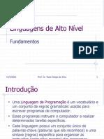 02 - Linguagens de Alto Nivel - Fundamentos
