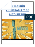 POBLACIÓN VULNERABLE Y DE ALTO RIESGO