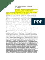 Las Competencias Del Administrador de Acuerdo a Lasnecesidades de La Empresa