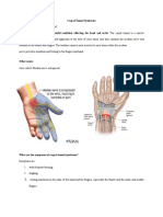 Carpal Tunnel Syndrome Final