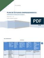 Emprendimiento y Empresarismo Ciclo 1 Plan de Estudios Completo F2 y F3