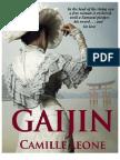 GAIJIN - novel excerpt