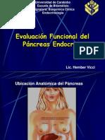 Clase Pancreas Endocrino Hember 2012
