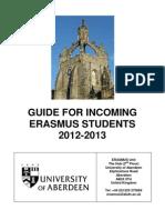 University of Aberdeen Exchange Programme Info