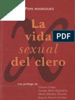 Pepe Rodriguez. Vida Sexual Del Clero
