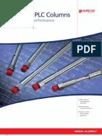 Ascentis HPLC Columns - Elevated HPLC Performance