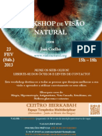 Workshop de Visão Natural - CENTRO MERKABAH