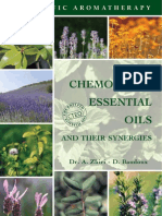 Aromatherapy chemotyped oils