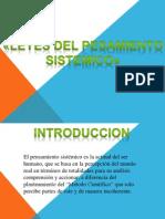 Diapositivas de Leyes de Pensamiento Sistemico