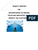 54132828 Advertising Effectiveness on Telecom Ind Project